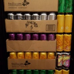 FRESH 12 Cans of Tree House, Alchemist, Bissell Brothers, and Trillium