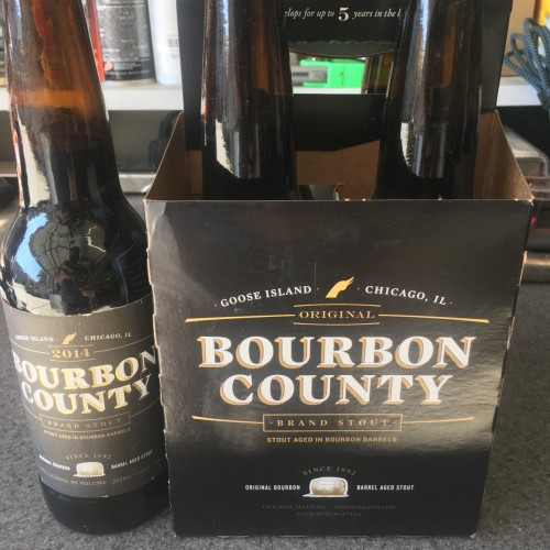 Goose island bourbon county 4 pack
