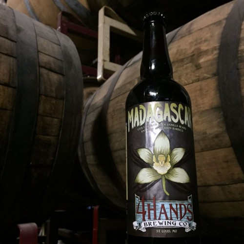 Image result for 4 Hands Brewing - Maple Madagascar