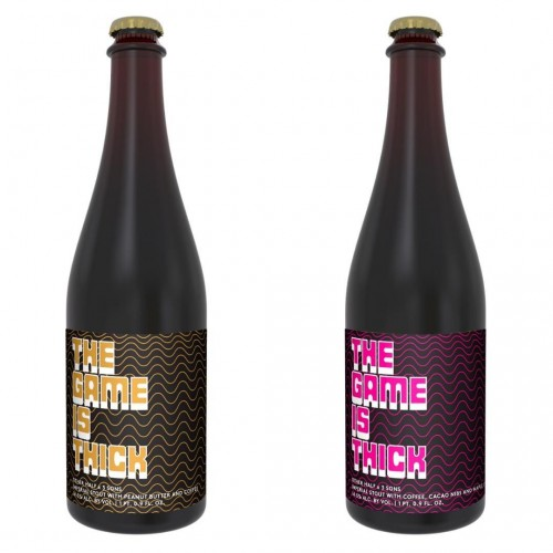 Other Half / 3 Sons Brewing Collabs - THE GAME IS THICK Imperial Stout - Both Versions