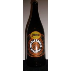 CIGAR CITY 2016 DOUBLE BARREL HUNAHPU'S IMPERIAL STOUT ONE 25.4 OZ. AGED IN RUM & APPLE BRANDY BARRELS UNOPENED BOTTLE