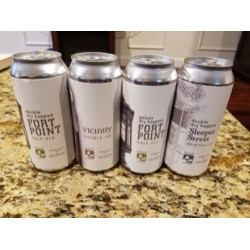 FRESH 4 pack Trillium Sampler.  DDH Sleeper Street, DDH Fort Point, Congress Street, Fort Point with Galaxy