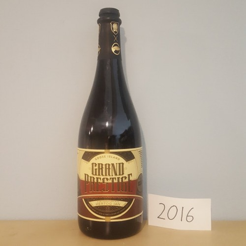 2016 Grand Prestige - Imperial Brown Ale aged in Bourbon Barrels