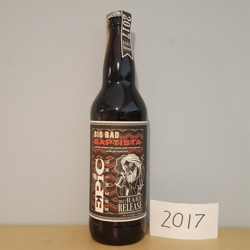 2017 Big Bad Baptista