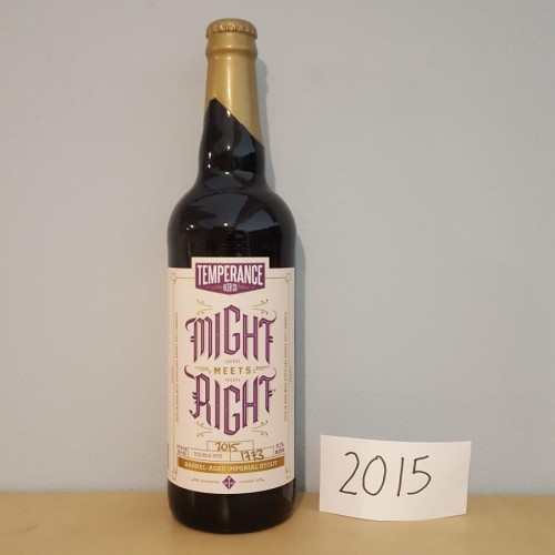 2015 Temperance - Might meets Right - Double Rye