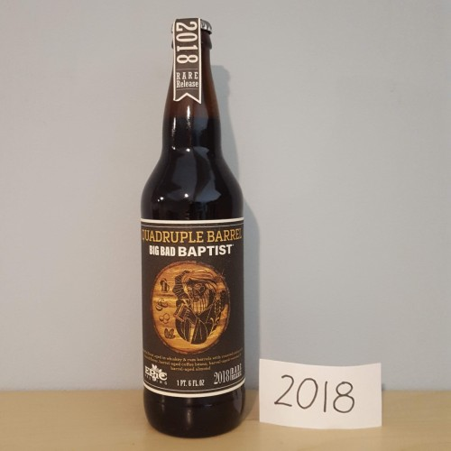 2018 Quadruple Barrel Big Bad Baptist