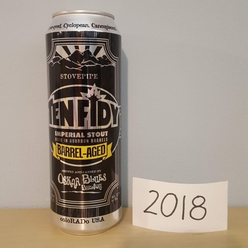 2018 TEN FIDY - Oskar Blues