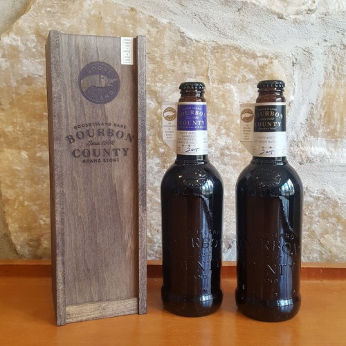 2015 Bourbon County Set - 3 non infected bottles only