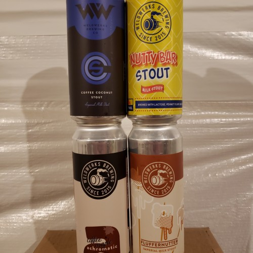 Weldwerks Brewing - Mixed lot of 4 stouts
