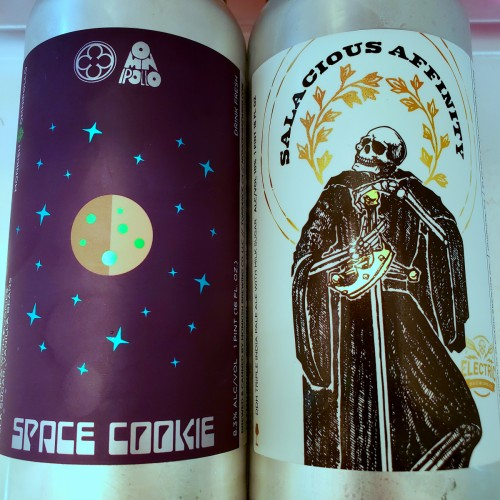 Monkish: Space Cookie + Electric Salacious Affinity cans
