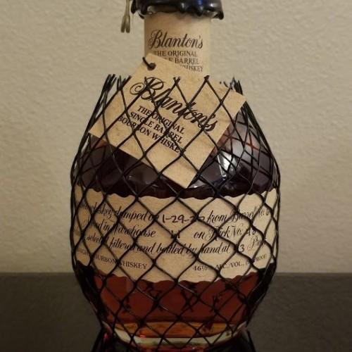 """Blanton's Bourbon Bottle Stopper Letter """"L"""""""