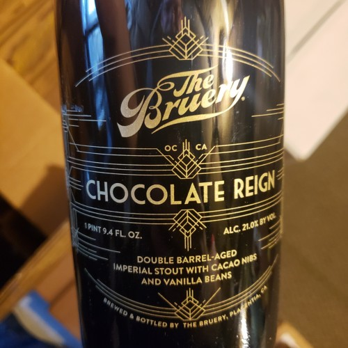 THE BRUERY Chocolate Reign