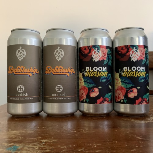 MONKISH / MIXED 4 PACK! [4 cans total]