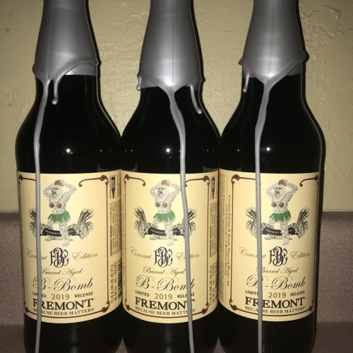 Fremont Brewing - 2019 B-Bomb: Coconut (Three Bottles) [Price Includes Shipping]