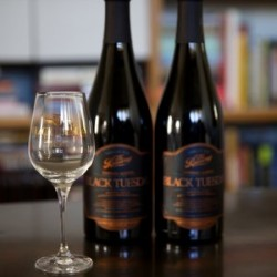 BRUERY 2 Bottle Lot! BLACK TUESDAY + sold out tasting glass!