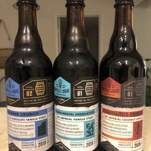 Bottle Logic Stout Fundamental Observation Number Crunch Astronautica Exotica 2019