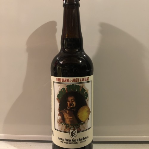 Perrin Rum No Rules 2019.  Brewery only release!