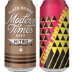 Modern Times: 1 Can Golden Pineapple, 1 Can Black House with Coconut and Cocoa