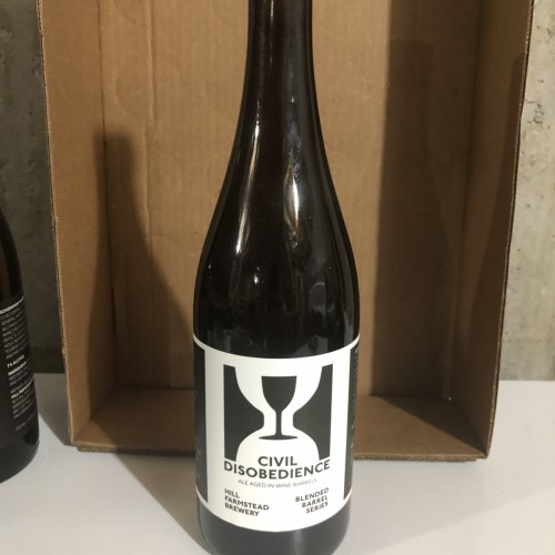 Hill Farmstead - Civil Disobedience 24 750ml rare release
