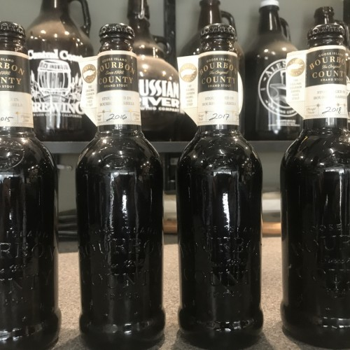 Goose island 4 bottle collection