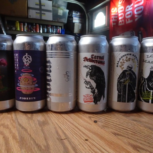 Electric & Monkish Brewing mixed Carnal Deliverance, Salacious Affinity, Lords and Masters, Old Monte Carlo, Create A Potato, Monk Magic Dynasty