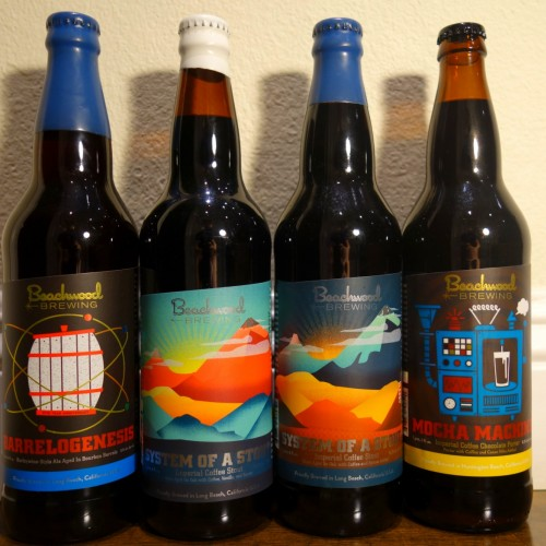 Beachwood Brewing 4 Bottle Stout Set