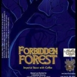 J Wakefield Brewing Forbidden Forest Imperial Stout w/Barrel Aged Coffee