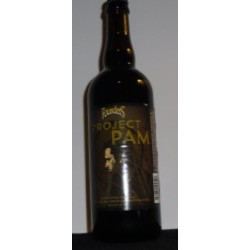FOUNDERS BACKSTAGE SERIES  PROJECT PAM  BLACK INDIAN PALE ALE AGED IN MAPLE SYRUP BOURBON BARRELS UNOPENED 25.4OZ. BOTTLE