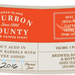 2016 Bourbon County Coffee (2 bottles)