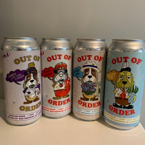 RAR Brewing Out of Order Mixed 4 Pack