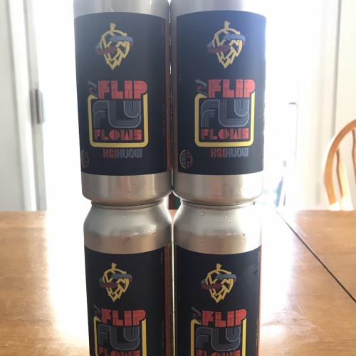 Monkish Brewing - Flip, Fly, Flows DDH DIPA 4-Pack
