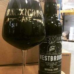 Westbrook Mexican cake 17 with limited glass