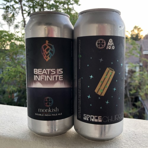 Monkish: Space Churro & Beats Infinite (2-cans)