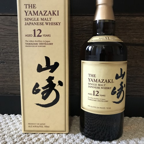Yamazaki 12 (Old Yellow Label Box)