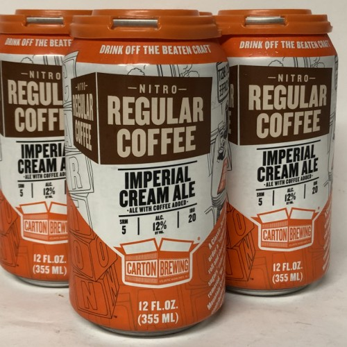 Carton NITRO REGULAR COFFEE Imperial Cream Ale