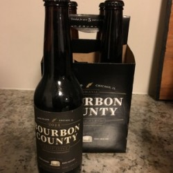 2014 Goose Island Bourbon Country Brand stout BCS 4-pack