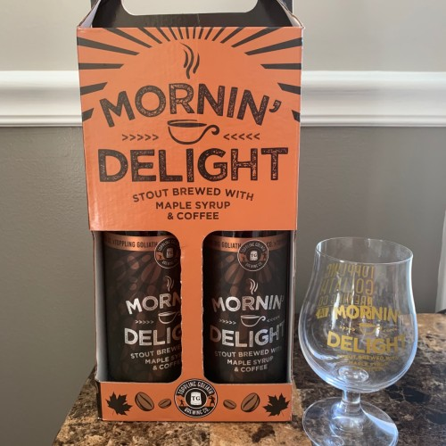 Toppling Goliath Mornin' Delight 2019 2PK Gift Set w/ MD Snifter