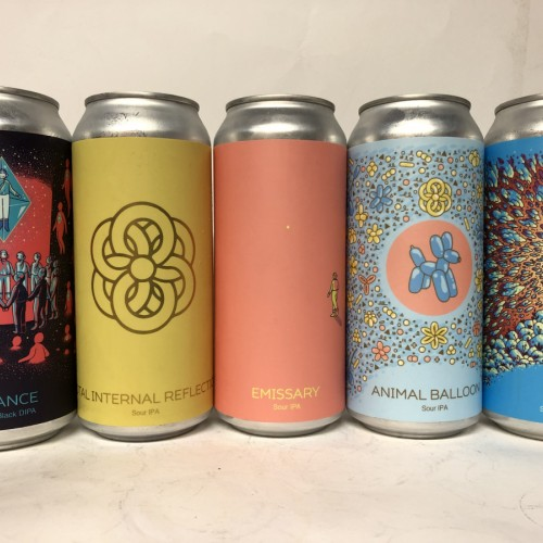 HUDSON VALLEY MIX SEANCE / SOLACE / ANIMAL BALLOON / EMISSARY / TOTAL INTERNAL REFLECTION SOUR IPA'S