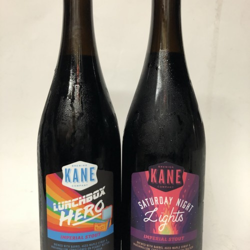 KANE SATURDAY NIGHT LIGHTS & LUNCHBOX HERO IMPERIAL STOUTS SET OF 2