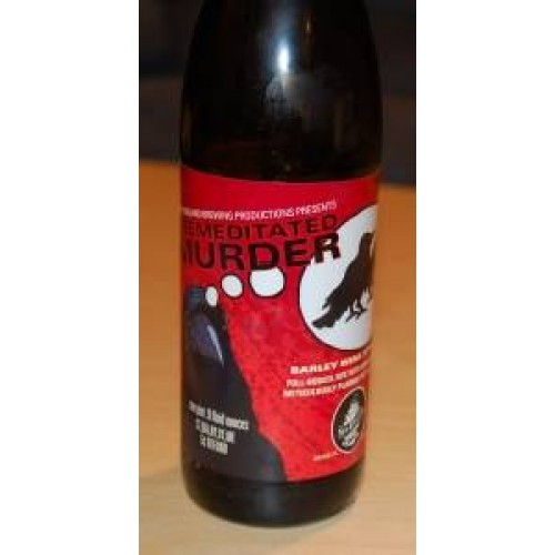 New England Brewing Company Premeditated Murder Barleywine 2017