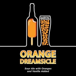 J Wakefield Brewing Orange Dreamsicle Berliner Weisse Sour w/Orange & Vanilla