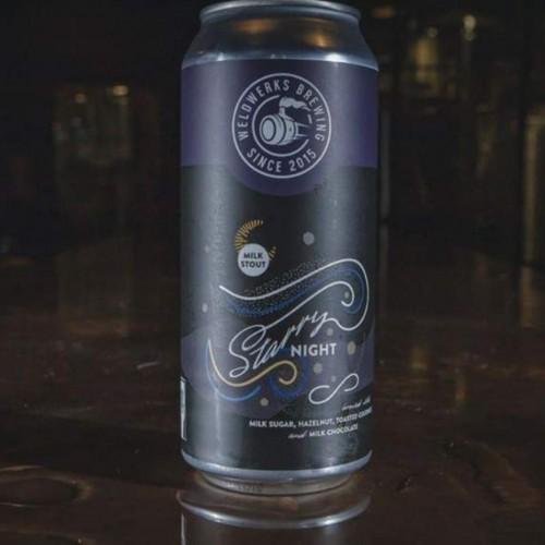Weldwerks Brewing - 4 cans - Starry Night (11/15/19 Release)