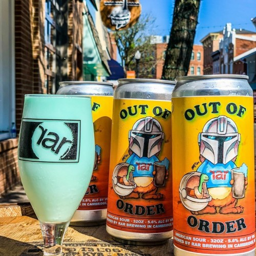 STAR WARS COLLECTIBLE : RAR Brewing  Out of Order: Blue Milk -Fruited Soured