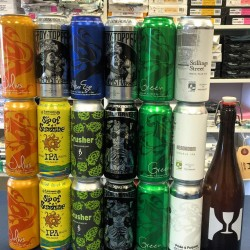 4 Packs!! Trillium--TREEHOUSE--Alchemist--Aslin--MORE!! plus CELLAR LIST