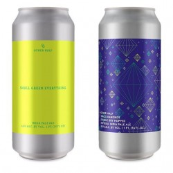 OH Mixed 4-Pack: Other Half Double Dry Hopped Space Diamonds, Double Dry Hopped All Citra Everything, All Green Everything, and Small Green Everything, mixed 4-pack