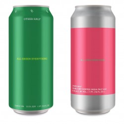 OH Triple Mixed Pack: Other Half Double Dry Hopped Space Diamonds, Double Dry Hopped All Citra Everything, and All Green Everything, mixed 3-pack